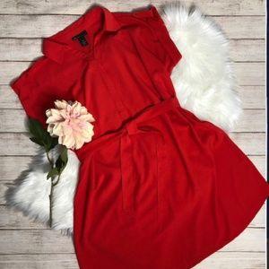 LANE BRYANT Plus Size Red Dress SIZE 18/20